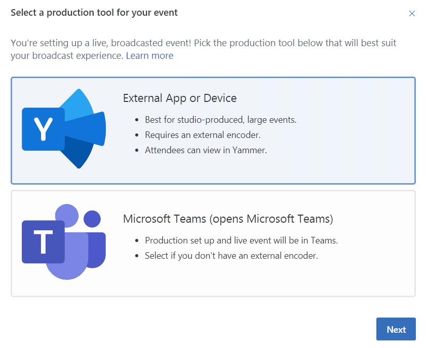 Microsoft Teams Yammer Screenshot