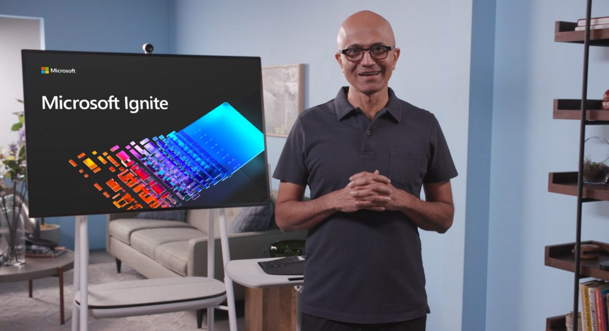 Satya Nadella Speaking | Microsoft Ignite 2020