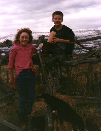 Zoe Douglas growing up in rural Australia