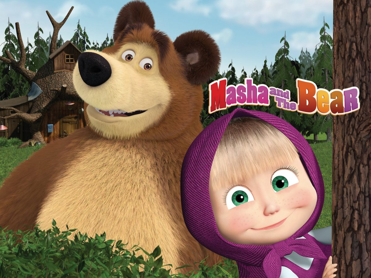 Ма́ша и Медве́дь - Masha and the Bear - A popular children's animated show