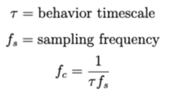 Smoothing equation