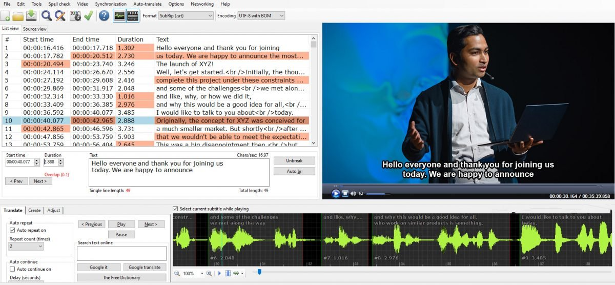 When localization is not considered, subtitling can be awkward and stilted to read.