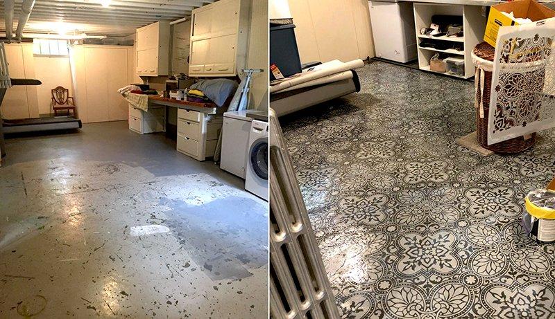 Michelle Poole enjoys home renovation